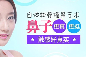 北京中加科洋整形医院自体软骨隆鼻的优势 可随意揉捏