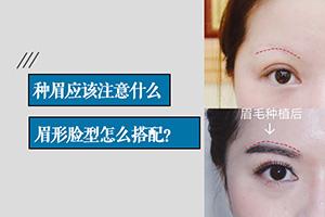 眉毛种植是什么 眉毛种植效果自然真实 持久不脱落